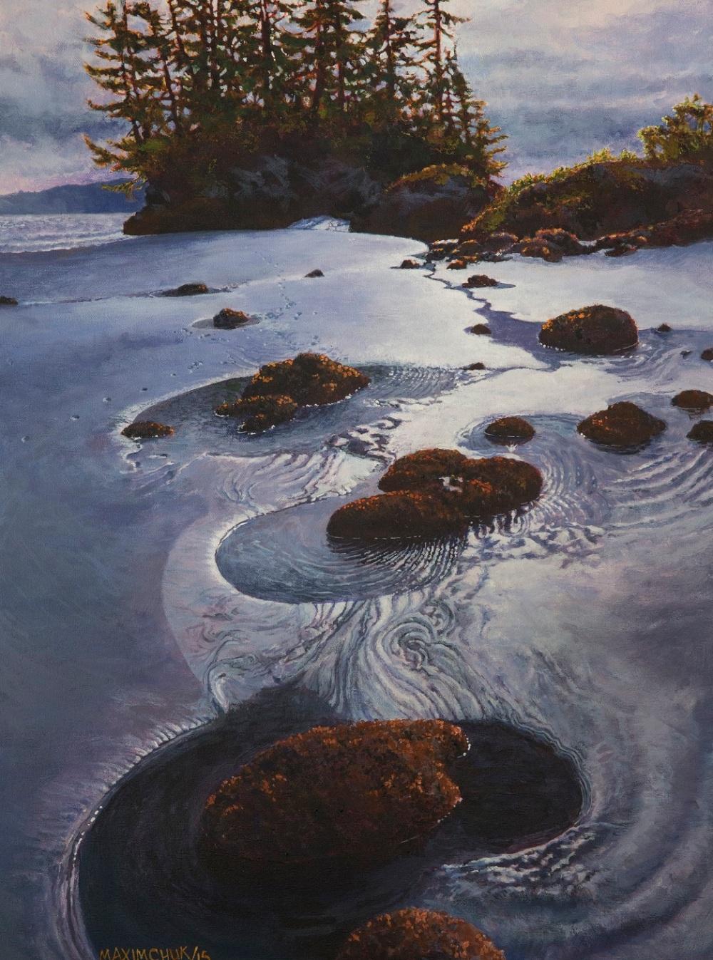 Acrylic-Tidepools-Yvonne-Maximchuk